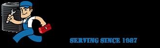 HVAC Systems – Install, Buy Logo